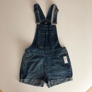 NWT GAP Petites overall shorts